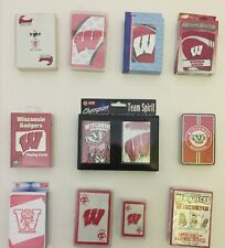 Wisconsin Playing Cards 26 Decks University Wisconsin Badgers Ncaa College State