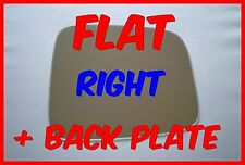 JEEP LIBERTY 2001-2007 DOOR MIRROR GLASS FLAT+ BACKING PLATE RIGHT SIDE