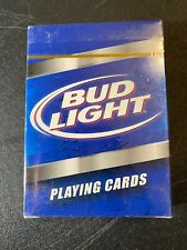 Bud Light Beer Playing Cards Standard Card Deck New Factory Sealed