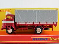Busch/Espewe 95173 IFA W50 Sp (1973) in almandinrot/weiß 1:87/H0 NEU/OVP