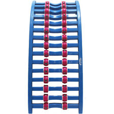 Back Spine Lumbar Relief Multi Magnetic Roller Stretcher Massager, NEW