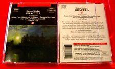 Bram Stoker Dracula 3-Tape Audio Drama Brian Cox/Heathcote Williams Horror Naxos