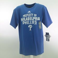 Philadelphia Phillies Official MLB Adidas Apparel Kids Youth Size T-Shirt New