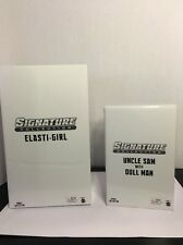 DC Universe Classics Signature Collection   ELASTI-GIRL And Uncle Sam/Doll Man