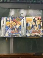 Yu-Gi-Oh: Stairway to the Destined And Sacred Cards GBA BOX AND MANUAL ONLY