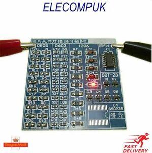 SMT SMD Component Weld Welding Practice Blue PCB Board Soldering DIY Kit 5V
