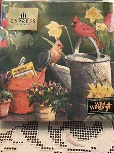 Cypress Garden Delight Cardinal Beverage Napkins 20 Ct.Serviette
