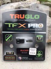 Truglo Tfx Ruger Sr Set Pro Orn Handgun Sight Tg13Rs1Pc