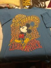 Vintage Disney Store Mickey Mouse Genuine Character Real Deal T-shirt  size med