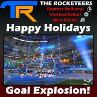 [PC] Rocket League Happy Holidays Secret Santa Crate Import Goal Explosion