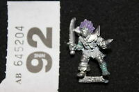 Games Workshop Warhammer Fantasy Chaos Thug Realms 80s Citadel Metal Figure A