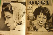 OGGI1958 Aldo Fabrizi + Carlo Ave Ninchi + Natalino Otto + Umberto Melnati +
