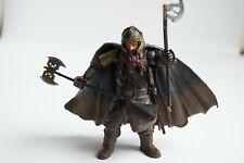 Le seigneur des anneaux figurine GIMLI complètement Toybiz