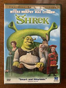 Shrek DVD 2001 DreamWorks Original Animated Freature Movie Classic Region 1