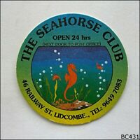 The Seahorse Club Lidcombe Coaster (A) (B431)