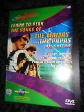 NEW SEALED All Region DVD LEARN TO PLAY The Songs of Mamas And Papas On Guitar