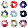 New Tie-dye Hair Ring Rubber Band Elastic Hair Rope Rainbow Velvet Scrunchies