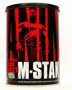 Universal Nutrition Animal M-Stak 21 PACKS  Hard Gainer's GET BIG QUICK