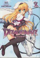 Dragonar Academy 2 Lot of Shonen Manga, English, 16+, Shiki Mizuchi