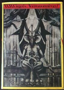 H.R.Giger's Necronomicon 1 HRGiger 1987 Art book signed