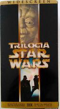 PELICULA VHS PACK TRILOGIA CLASICA STAR WARS PRECINTADA