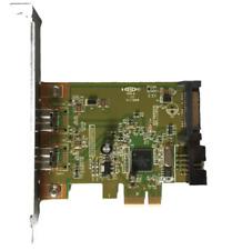HP (491886-002) Firewire 1394b Dual Port Card - PCIe x1 Full Height (632487-001)