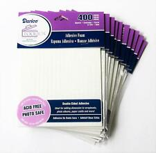 FREEship 10pk 3D FOAM DOTS Double Sided SQUARE Adhesive 4000pc Acid Free Photo
