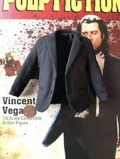STAR ACE Vincent Vega Pulp Fiction Black Suit Jacket loose 1/6th scale