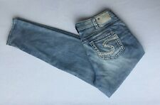 bb1d7f77 NEW Silver Jeans Women's AIKO Mid Rise Skinny Leg Plus Size 90428A