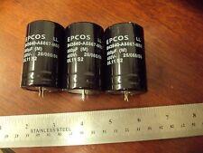4R **3-PCS Epcos LL 560uf 450v Electrolytic Capacitors**