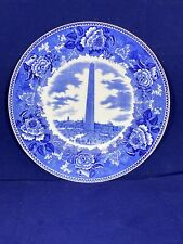 Rare Antique Shreve, Crump & Low Bunker Hill Monument Wedgewood Decorative Plate