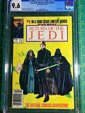STAR WARS Return of the Jedi ROTJ #4 Marvel Comics 1984 CGC 9.6 Movie Adaptation