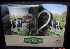 More details for the leonardo collection cow mug and coaster set bnib