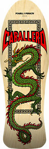 Powell Peralta Skateboard Deck Caballero Chinese Dragon Natural Re-Issue