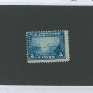 États-unis Envoi Tampon #399 Excellent État à Charnières Fin Catalogue Valeur