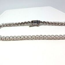 White Gold Diamond Tennis Bracelet - 9ct - (3353)