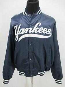 P4971 VTG Majestic Men's New York Yankees Baseball-MLB Varsity Jacket Size XL