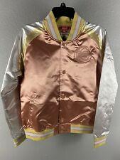 Mitchell & Ness Womens Houston Rockets Hardwood Classics Jacket Size Small