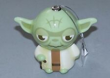 Star Wars YODA Ornament NEW Disney HALLMARK Green Decoupage Christmas Tree NWT