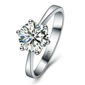 925 Sterling Silber Ringe Cubic Zirkonia Ring Engagemnt Ring Hochzeit Ring