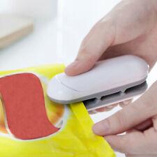 Portable Mini Heat Bag Sealer Sealing Machine Household Plastic Bag Cutter HOT