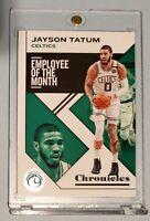 Jayson TATUM 🔥 Boston CELTICS 🏀 2019-20 PANINI CHRONICLES BASKETBALL CARD