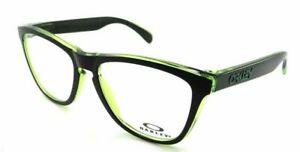 Oakley Frogskins Eyeglasses OX8131-0254 Eclipse Green Frame W/ RX Demo Lenses