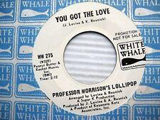 PROFESSOR MORRISON's LOLLIPOP you got the love gypsy lady WL PROMO 45 C184