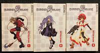 Elemental Gelade Manga 1, 2, 3 Fantasy Action English Tokyopop OOP