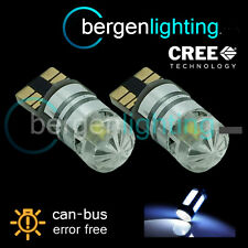 2X W5W T10 501 CANBUS ERROR FREE WHITE CREE LED HILEVEL BRAKE BULBS HLBL103001