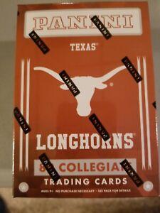 2015 Panini box factory sealed U of Texas Longhorns.  possible jersey/auto?