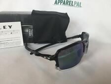 New Oakley TRIGGERMAN Sunglasses Black/Jade Iridium OO9266-02 Aviator- Authentic