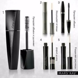 Mary Kay Mascara + Blue, Green, Plum, Brown, Black    NEW in box, fresh