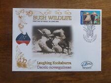 2005 AUSTRALIA BUSH WILDLIFE KOOKABURRA ALPHA P&S FDC